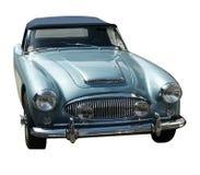 blåa bilsportar Arkivbild