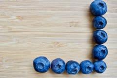 Blåa blåbär Arkivbilder