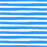 Blåa borstade band i vit bakgrund stock illustrationer
