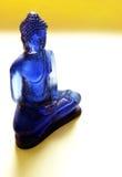 blåa buddha royaltyfri fotografi