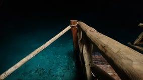 Blåa Cenote Royaltyfri Foto