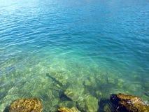 blåa djupa havkrusningar Royaltyfri Bild
