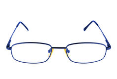 blåa exponeringsglas Fotografering för Bildbyråer