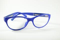 blåa exponeringsglas Arkivfoton