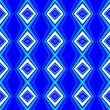 Blåa färgfyrkantbakgrunder Royaltyfri Bild