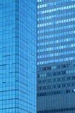 blåa fönster Royaltyfri Foto