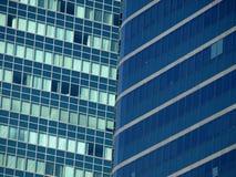 blåa fönster Royaltyfri Bild