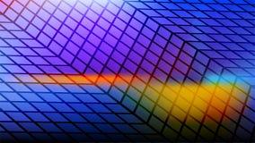Blåa fördärvguling och lilor färgar abstrakt bakgrund för textur Fotografering för Bildbyråer