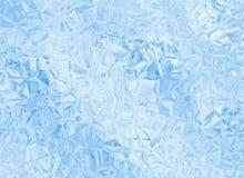 Blåa glass crystal bakgrunder för lättnad Royaltyfri Fotografi