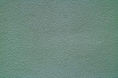 Blåa Gray Colored Rough Concrete Wall, Front View för bakgrund, textur Arkivbilder