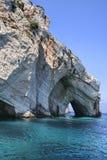 blåa grottor Royaltyfria Foton