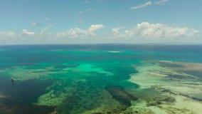 Blåa hav och moln i philippinesna lager videofilmer