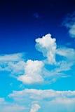 blåa himmlar Royaltyfria Bilder