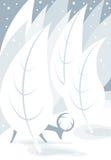 blåa hjortsignaler Arkivfoton