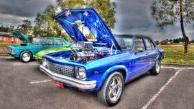 Blåa Holden Torana Arkivfoton