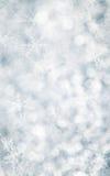 blåa julsnowflakes för bakgrund Royaltyfri Fotografi
