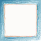 blåa kanter inramniner soft Arkivfoto