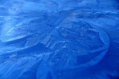 blåa kristaller Royaltyfria Bilder