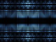 blåa kuber vektor illustrationer