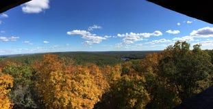 Blåa kullar, Massachusetts Arkivfoton
