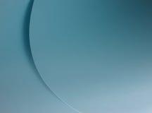 blåa kurvor Royaltyfri Fotografi