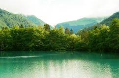 blåa lakes Royaltyfria Bilder