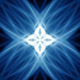 blåa lampor Arkivbilder