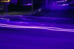 blåa lampor arkivbild