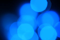 Blåa ljusa prickar Royaltyfria Foton