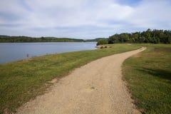 Blåa Marsh Lake royaltyfria bilder