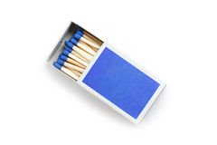 blåa matches Royaltyfri Fotografi