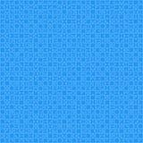 900 blåa materiella designstycken - figursåg Arkivfoton