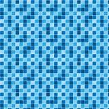 blåa modelltexturtegelplattor vektor illustrationer