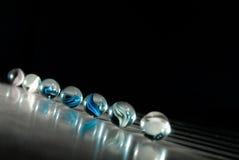 blåa mystiska orbs Royaltyfria Bilder