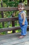 blåa overaller Royaltyfria Bilder