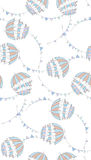 blåa paraplyer Arkivbild