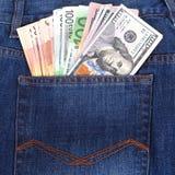 blåa pengar för jeans för bilder för http för href för höft för finans för dreamstime för dollar för begrepp för com för samling  Arkivbilder