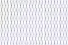 Blåa prickar på vit bakgrund Royaltyfri Bild