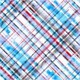 Blåa röda och svarta linjer på en vit bakgrundsvektorillustration royaltyfri illustrationer