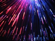blåa rosa strålar gör tunnare Arkivfoto