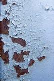 blåa rostiga texturer royaltyfria bilder