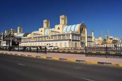 Blåa Souq i Sharjah Royaltyfri Bild
