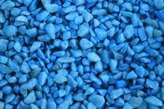 Blåa stenar royaltyfri foto