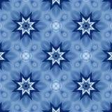 blåa stjärnor royaltyfri illustrationer