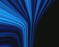 blåa strålar vektor illustrationer