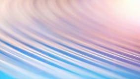 Blåa suddiga rundade linjer abstrakt begrepp för rörelse texturerade rengöringsdukbanerbakgrund Royaltyfri Fotografi