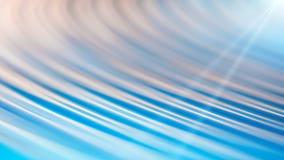 Blåa suddiga rundade linjer abstrakt begrepp för rörelse texturerade rengöringsdukbanerbakgrund Arkivfoto