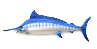 blåa swordfish Arkivfoton