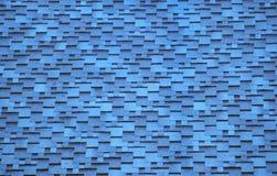 blåa takskytegelplattor Royaltyfri Foto