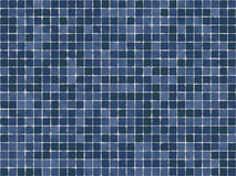 blåa tegelplattor Royaltyfri Bild